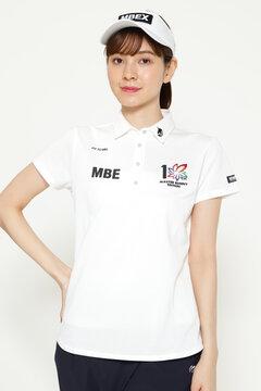 スペースマスター UV 半袖 カノコ ポロシャツ(LADIES)<上田プロ×MASTER BUNNY EDITION>