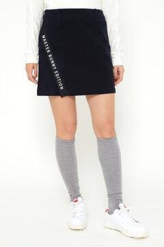 ハイパワーストレッチライトモールスキン ラップ風 スカート <Instagram 紹介>
