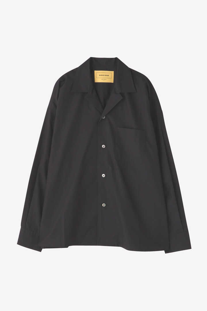 SEVEN BY SEVEN / OPEN COLLAR SHIRTS L/S(BROAD)1