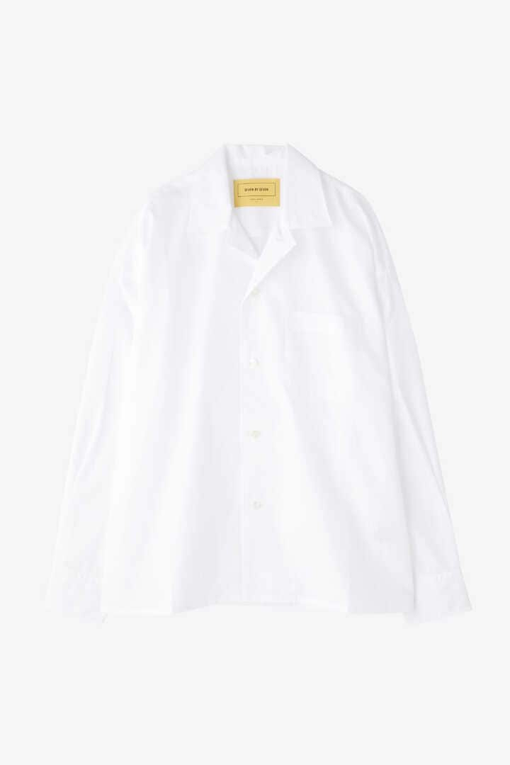 SEVEN BY SEVEN / OPEN COLLAR SHIRTS L/S(BROAD)10