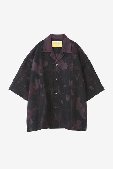 SEVEN BY SEVEN / OPEN COLLAR SH S/S(PAINT JQ)_010