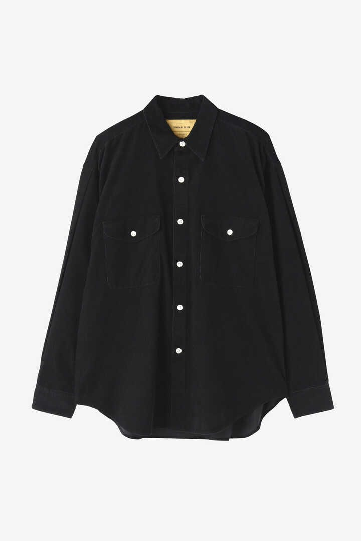 SEVEN BY SEVEN / CORDUROY TUCK SHIRTS(ONE WASH)1