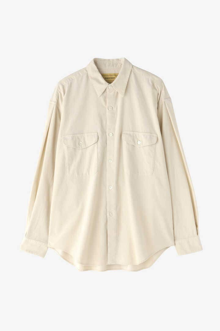 SEVEN BY SEVEN / CORDUROY TUCK SHIRTS(ONE WASH)8