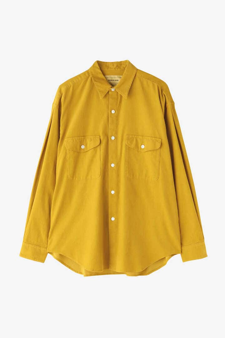 SEVEN BY SEVEN / CORDUROY TUCK SHIRTS(ONE WASH)10