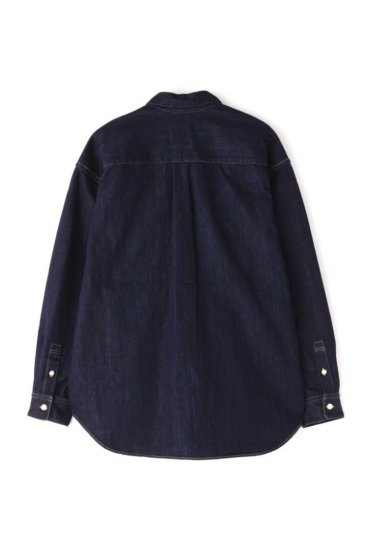 SEVEN BY SEVEN / DENIM TUCK SHIRTS(ONE WASH)2