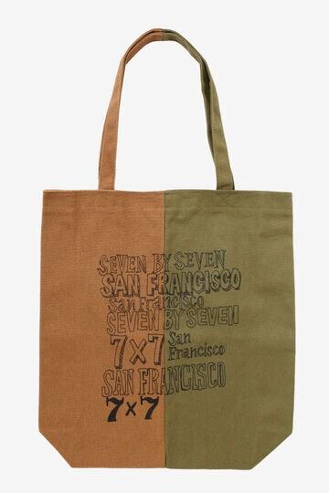 SEVEN BY SEVEN / DOCKING TOTE BAG Collaborated by Masakatsu Shimoda_180