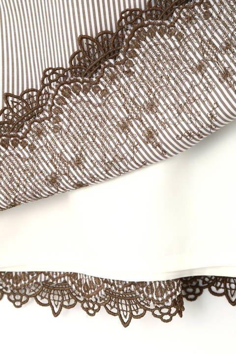 トルコ刺繍ストライプスカート