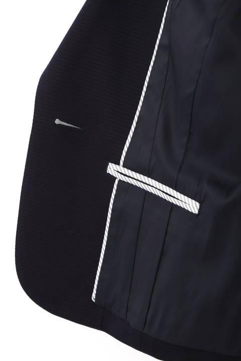 横うねポンチテーラードジャケット