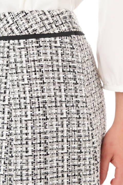 ファンシーツィードAラインスカート
