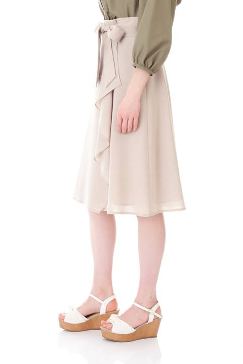 カルゼラップ風フレアスカート
