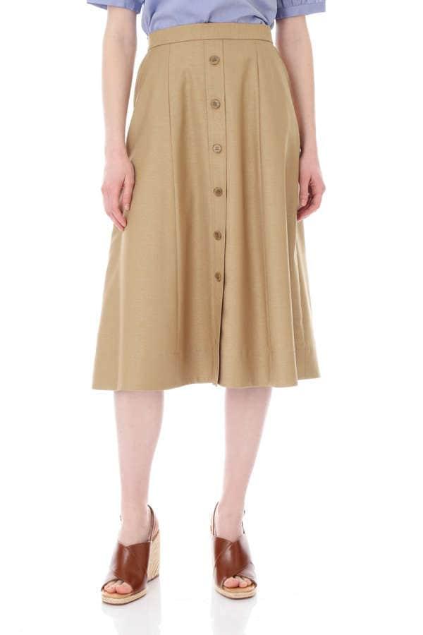 【先行予約 5月上旬 入荷予定】前釦付きスカート