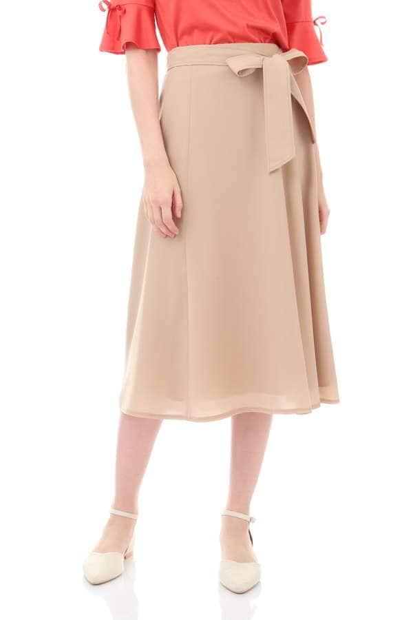【先行予約 5月下旬 入荷予定】切替フレアースカート