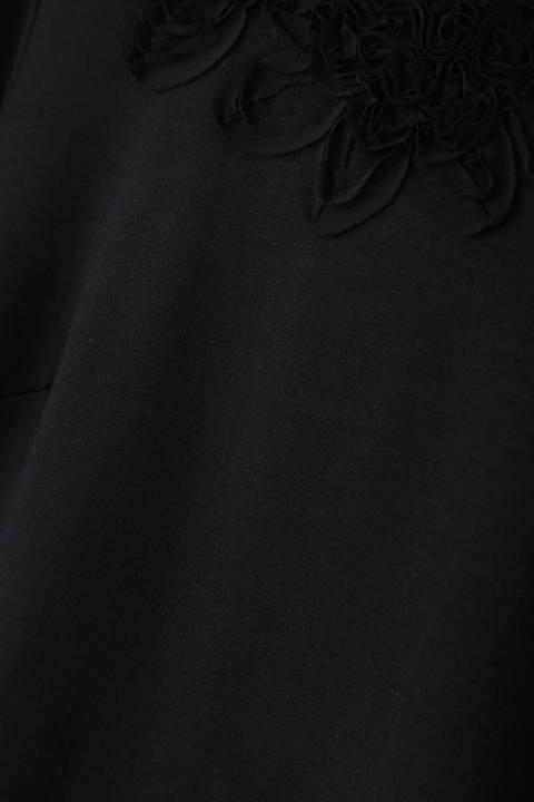 刺繍ウールカットソー