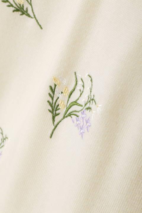 ミシン刺繍プルオーバー