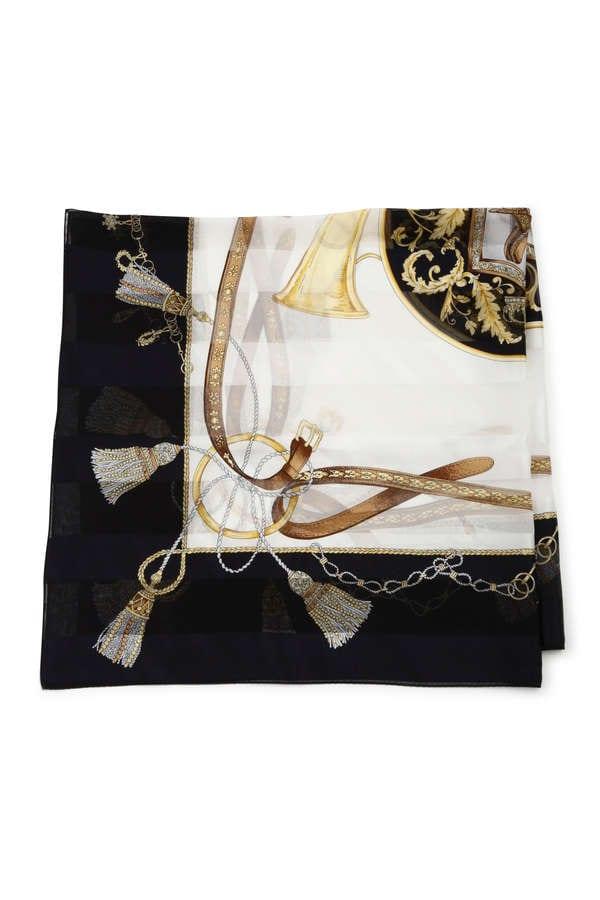 ポイントマークシルクスカーフ