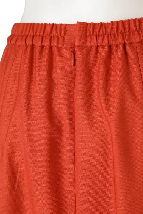 前釦付きスカート