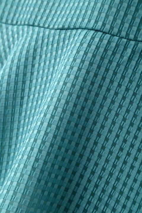 【先行予約 6月上旬 入荷予定】サテンサッカーマーメイドラップスカート