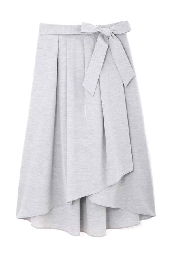 【先行予約 3月上旬 入荷予定】[WEB限定商品]スウェイングシャンブレースカート