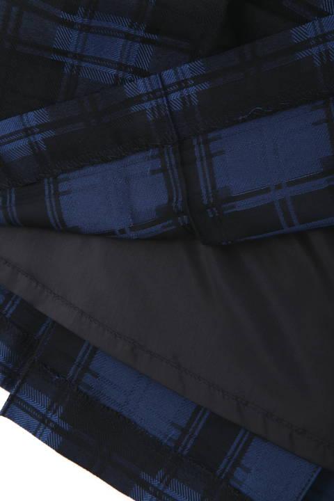 ジャガードチェックタックスカート
