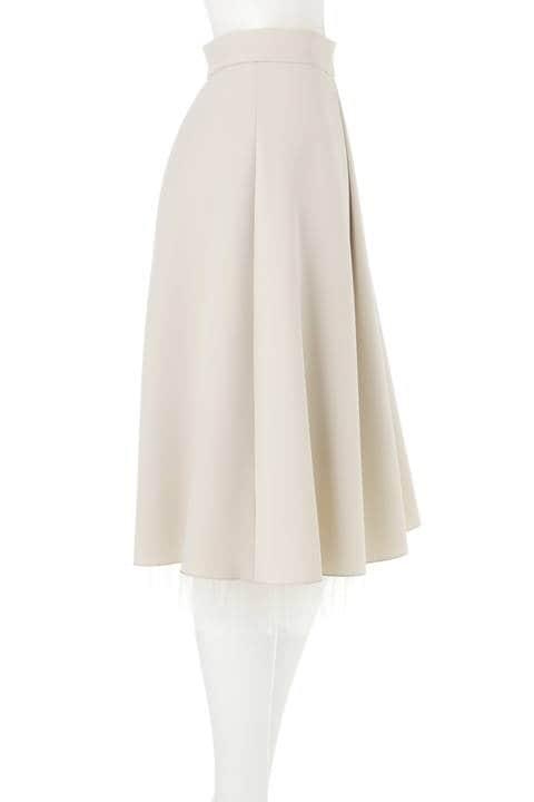 ストレッチ合繊チュールレイヤードスカート《Ravishing Collection》