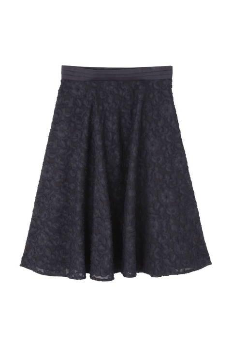 フラワーカットジャガードサーキュラースカート《Ravishing Collection》