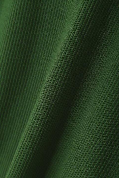 フレアスリーブニット