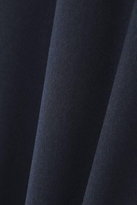ウールライクフラノイレギュラーラップスカート