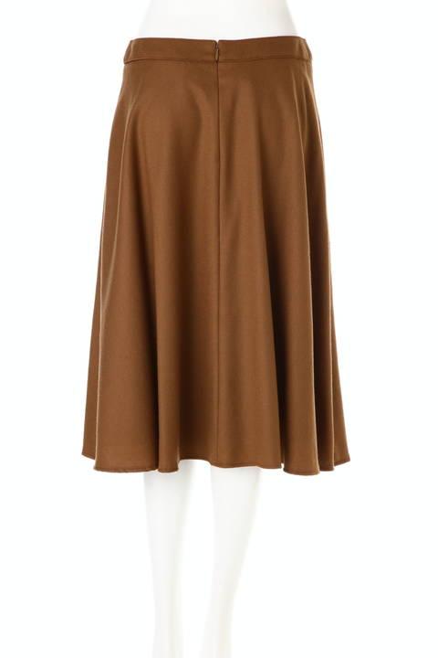 ウール混フレアースカート