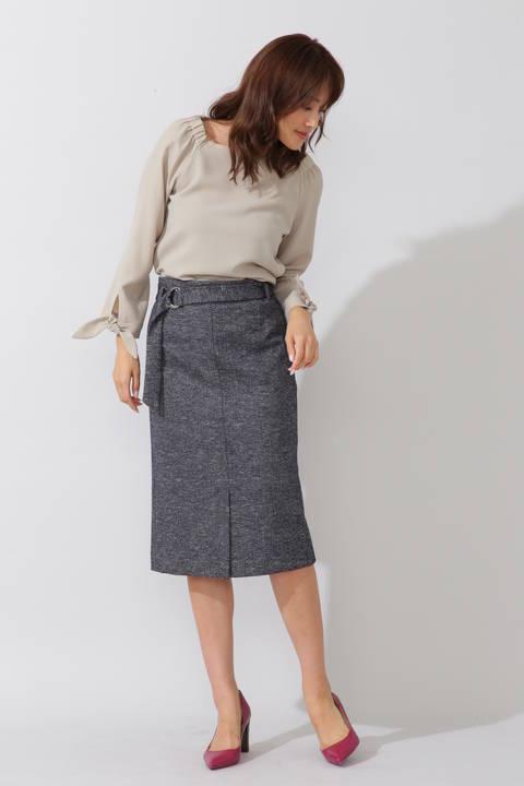 コットンウールジャージースカート