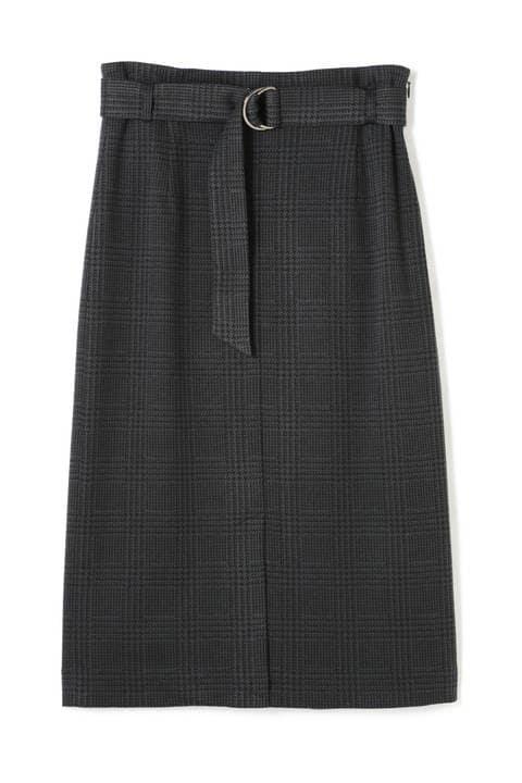 グレンチェックジャカードスカート