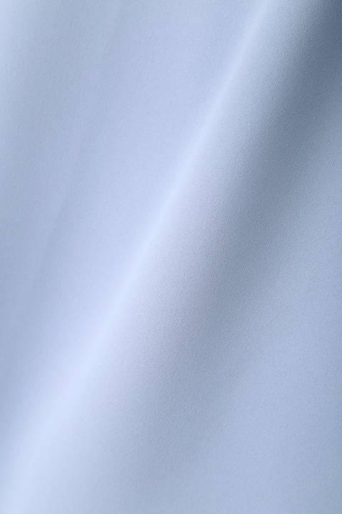 [ウォッシャブル]【夏目三久さん 永島優美さん着用】スリットフレアスリーブブラウス