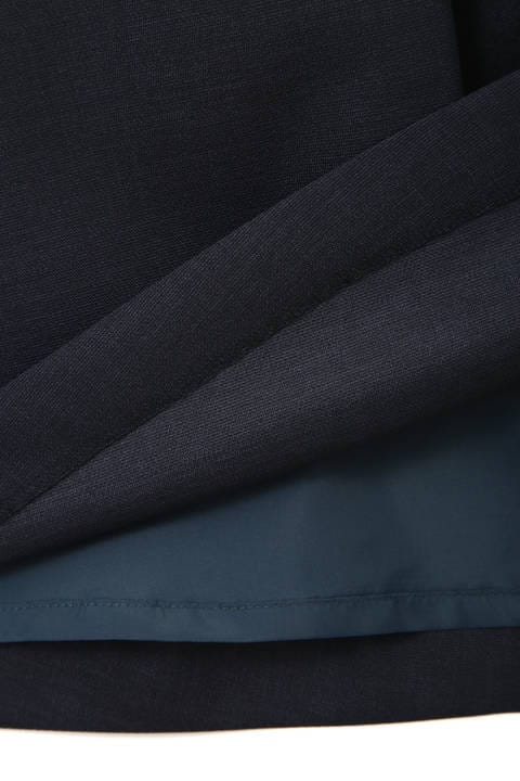 [ウォッシャブル] タックフレアスカート
