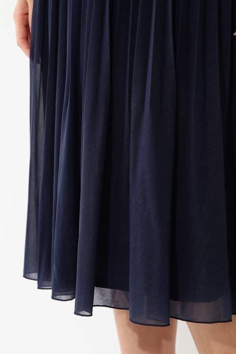 [ウォッシャブル] エスパンディプリーツスカート