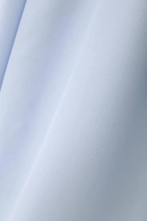 [ウォッシャブル]【鈴江奈々さん着用】ボウタイ風ブラウソー