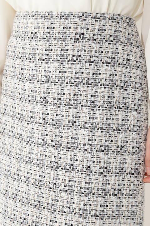 【岩本乃蒼さん着用】【鈴江奈々さん着用】ミックスツイードスカート