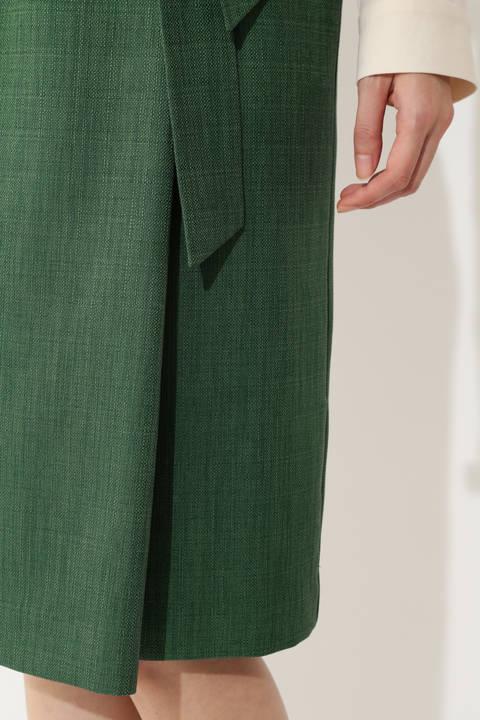 【夏目三久さん 佐々木恭子さん着用】[WEB限定商品]リネンライクハイウエストスカート