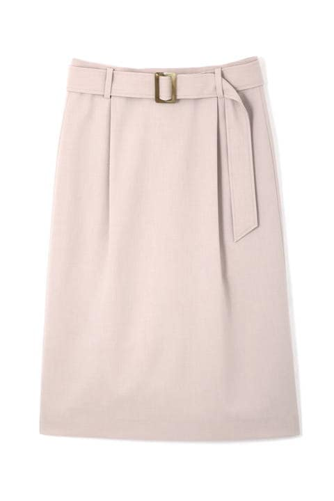 [ウォッシャブル] モックツイストスカート