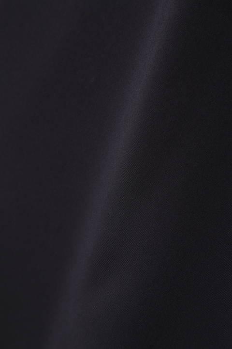 [ウォッシャブル]【STORY4月号掲載】シルク調ツイルブラウス