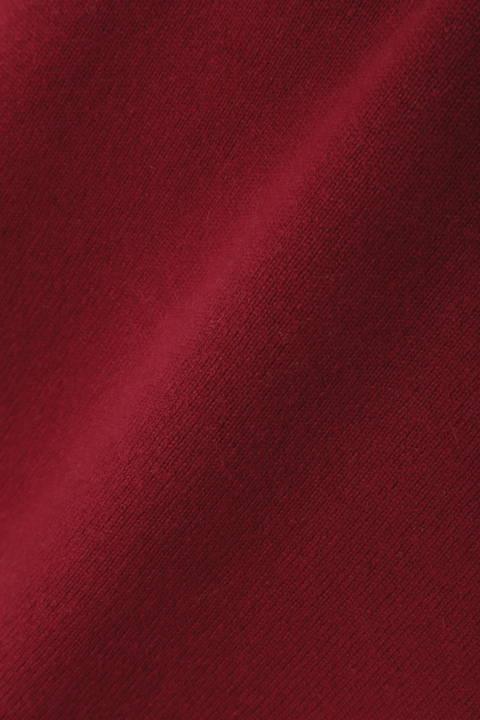 [ウォッシャブル]カシミヤウールニット