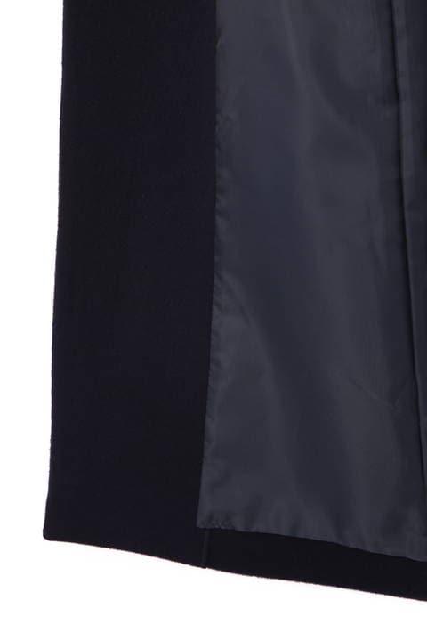 【ドラマ 有村架純さん着用】【好評につきブルーカラーのみ再予約受付中 12月下旬入荷予定】フーデットビーバーコート