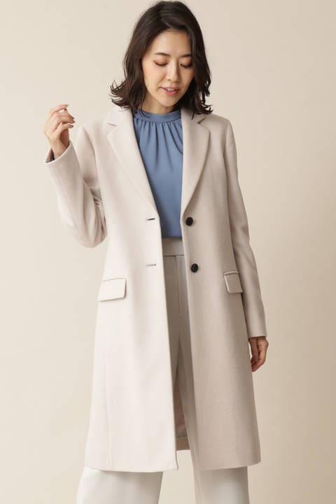 【先行予約 10月下旬-11月上旬入荷予定】カシミヤウールコート