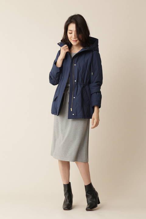 [ウォッシャブル][Weekend Line]ポケット付ジャージードレス