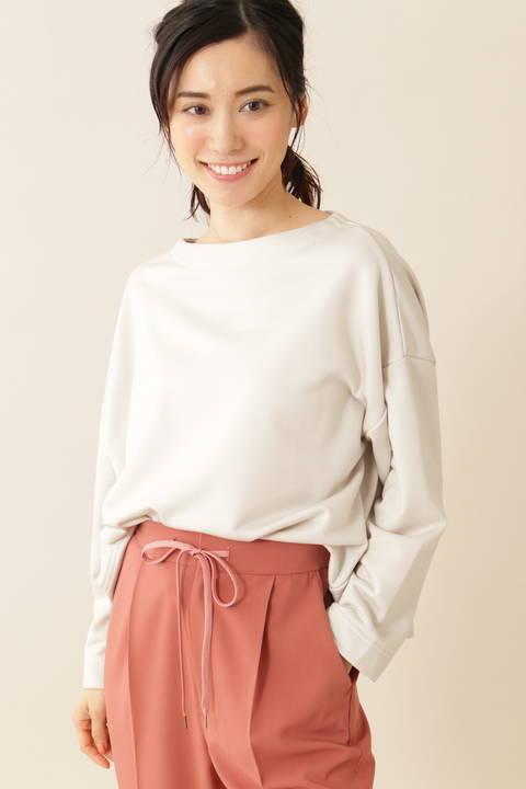 【Weekend Line】[ウォッシャブル]ミニ裏毛プルオーバー