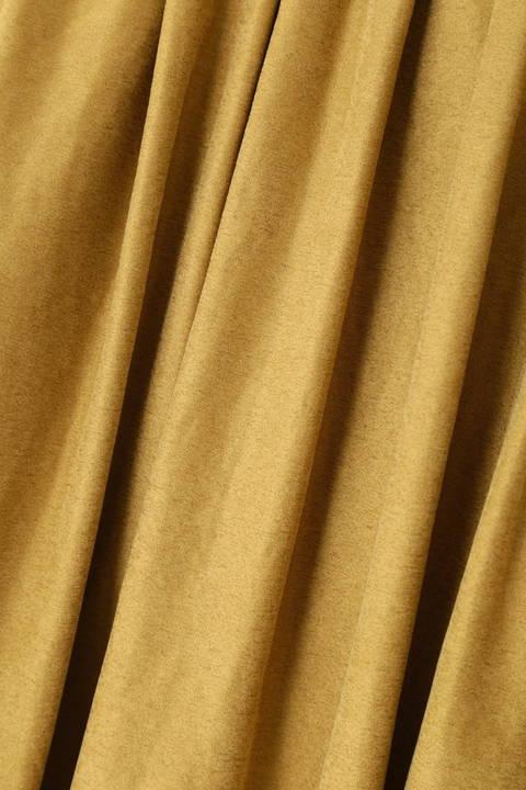 スエードライクギャザースカート