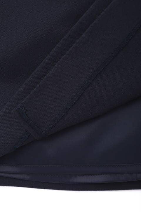 【岩本乃蒼さん着用】両面起毛ラップスカート