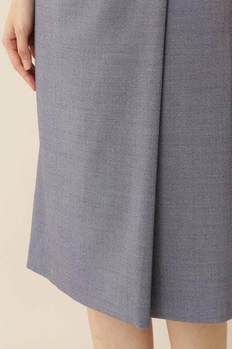 【先行予約 7月中旬入荷予定】[ウォッシャブル]T/Wデニムライクタイトスカート