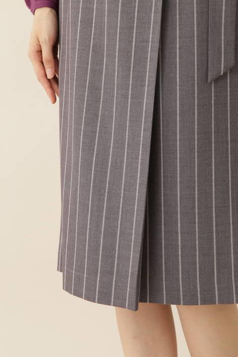 [ウォッシャブル]TRストライプスカート