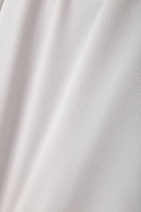 【岩本乃蒼さん着用】[TV着用][ウォッシャブル]タックフレアスリーブブラウス
