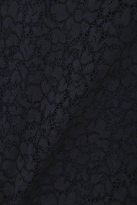 [ウォッシャブル]エレーヌレースブラウス