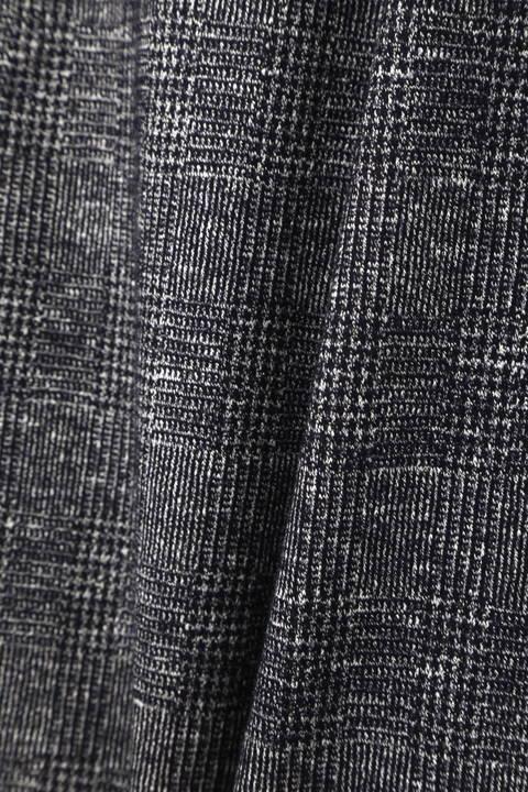 【大きいサイズ】【STORYコラボ 美脚パンツ】【STORY11月号掲載】コットンウールジャージーパンツ